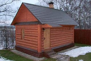 Как на даче можно построить баню?