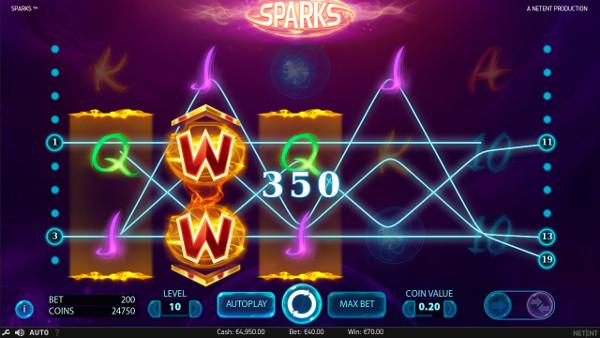 Игровой автомат Sparks - в казино вулкан 24 играть на реальные деньги