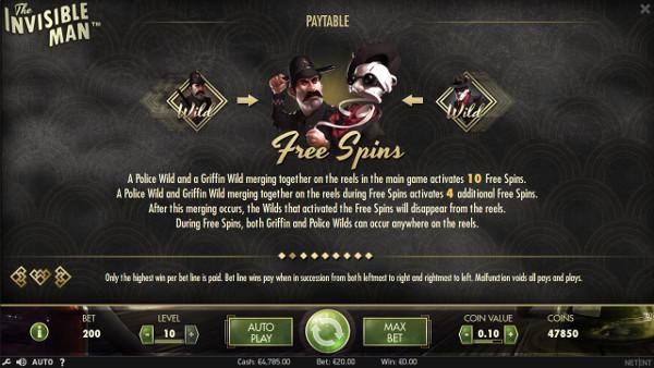 Игровой автомат The Invisible Man - на сайте Вулкан казино тренируйся бесплатно в слоте