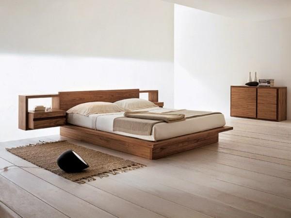 какие бывают стили кроватей из дерева