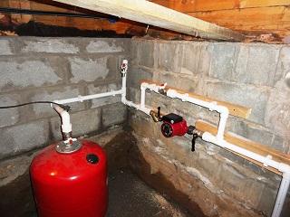 Куда установить насос для отопления