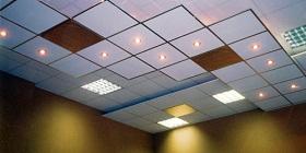 Все о плиточных потолках