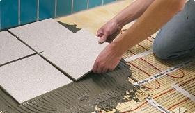 Укладываем плитку на теплый пол
