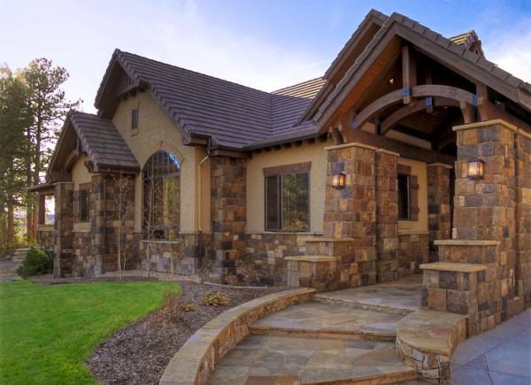 Строительство каменных загородных домов Renova