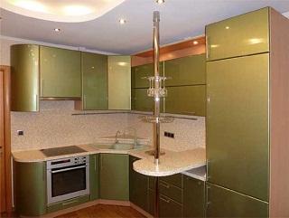 Проектировка угловых кухонь